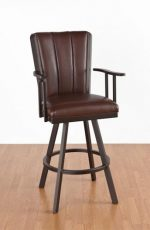 Callee Bogart Flex Back Bar Stool with Arms