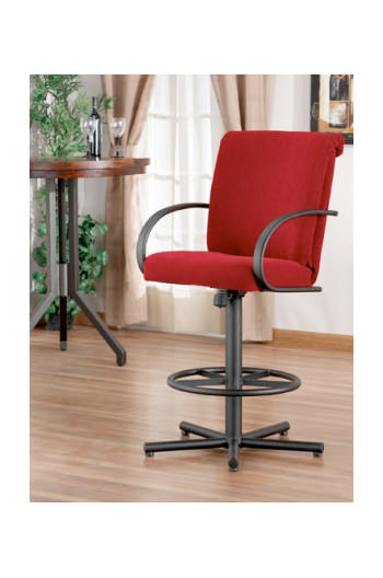 Durant Tilt Swivel with Arms Callee Durant Swivel Stool with Arms ...  sc 1 st  Barstool Comforts & Callee Durant Tilt / Recline Back Swivel Stool - Free shipping! islam-shia.org