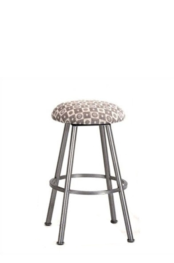 Callee Longhorn Backless Swivel Stool W Round Seat Free