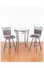Callee's Winston Armless Swivel Bar Stools