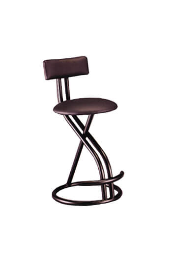 Ultra Modern Swivel Stool by Lisa Furniture