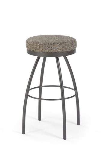 Trica Adam Backless Swivel Stool For Modern Kitchens