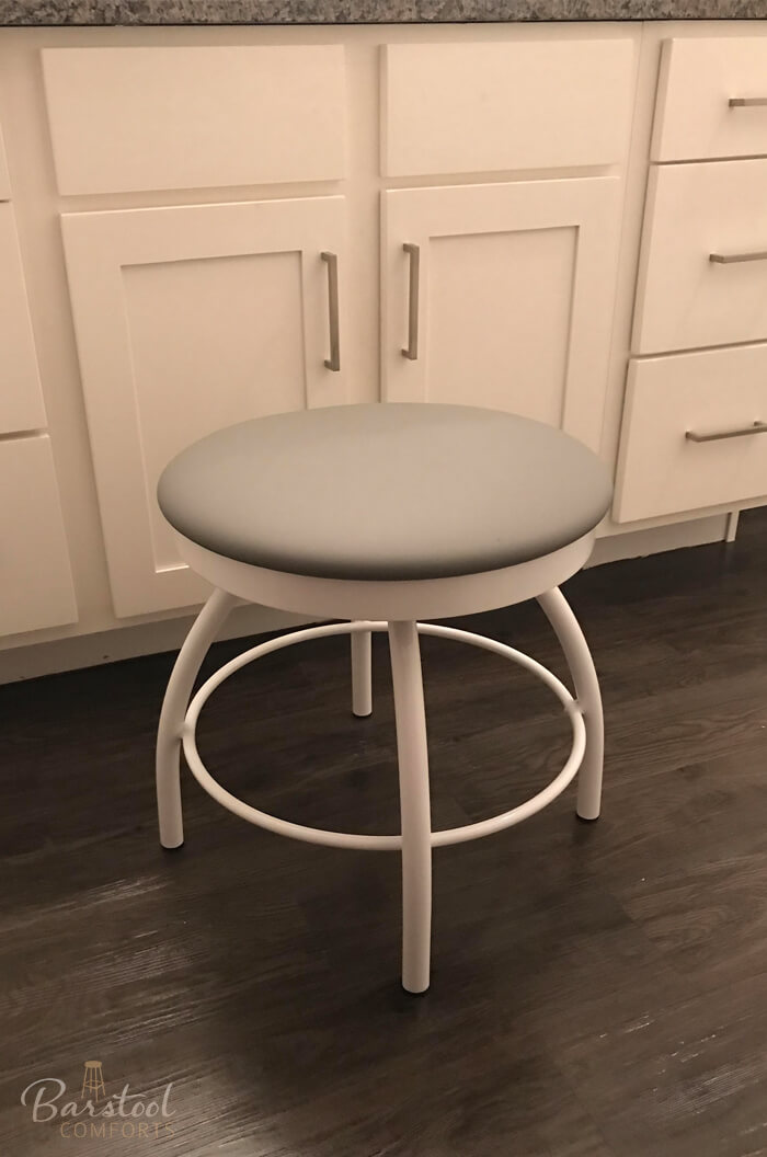 Tricau0027s Adam Backless Vanity Stool With Round Seat