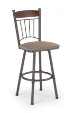 Trica Allan Metal Swivel Stool