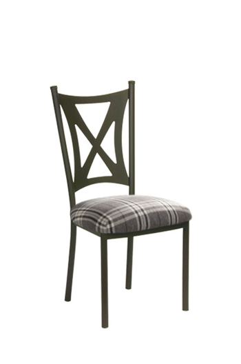 Trica's Aramis Side Chair with Thick Seat Cushion
