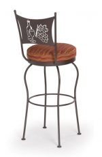 Trica Art Collection 1 Swivel Stool for Home Wine Bars