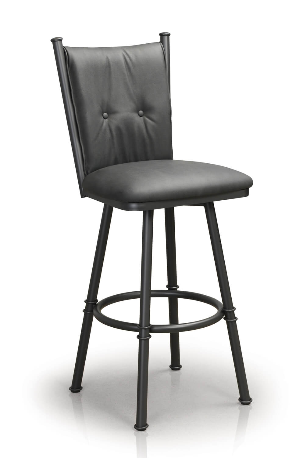 Buy Trica S Arthur Swivel Counter Stool W Button Tufted