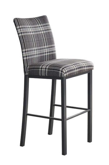 Trica Biscaro Stool with High Back