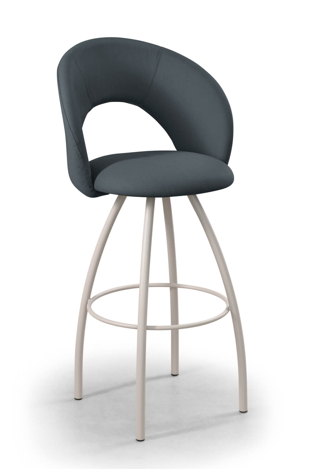 Awesome Biscotti Swivel Stool Inzonedesignstudio Interior Chair Design Inzonedesignstudiocom
