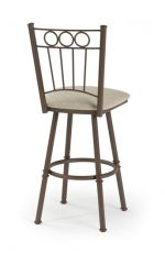 Trica Charles 1 Swivel Stool for Traditional Home Bars