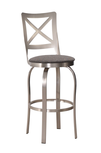Trica S Chateau Swivel Bar Stool 34 Quot Spectator Height