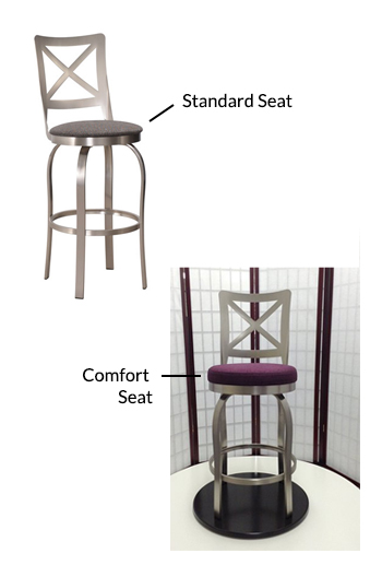 Magnificent Chateau Swivel Stool In Brushed Steel Gmtry Best Dining Table And Chair Ideas Images Gmtryco