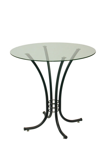 Trica Erika Table with Round Glass