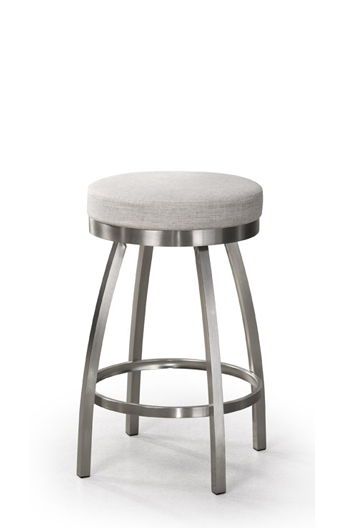 Trica Henry Backless Swivel Stool