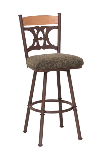Trica S Penelope Tuscan Swivel Bar Or Counter Stool Free