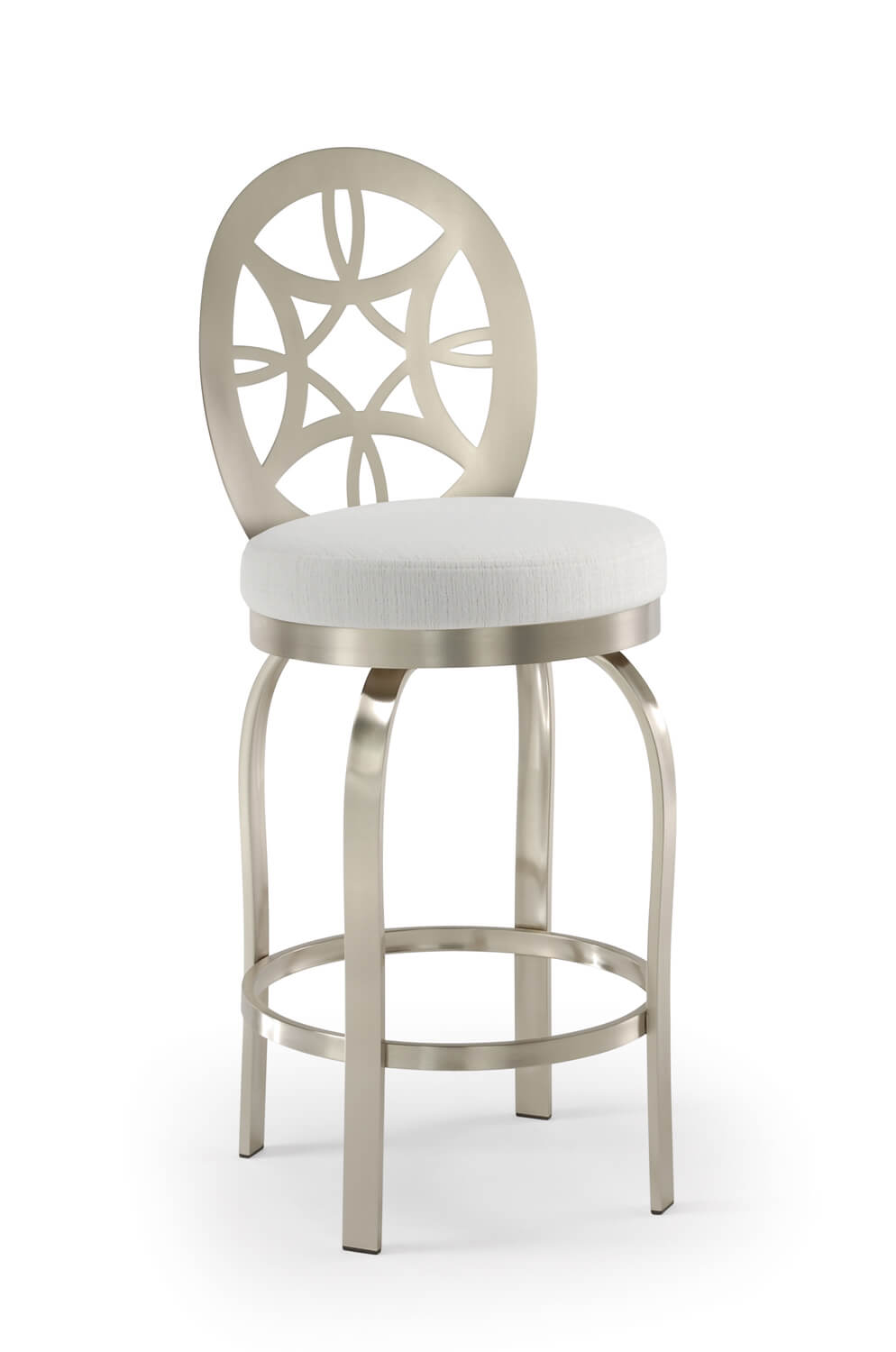 Buy Trica S Provence Brushed Stainless Steel Swivel Bar Stool