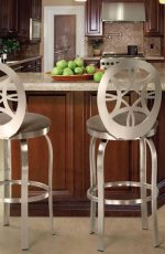Trica Provence Swivel Stool for Modern Kitchens