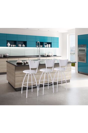 ... Trica Tiptop Swivel Stool For Modern Simple Kitchen
