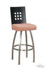 Trica's Tristan Swivel Stool with Tweed 700 Fabric