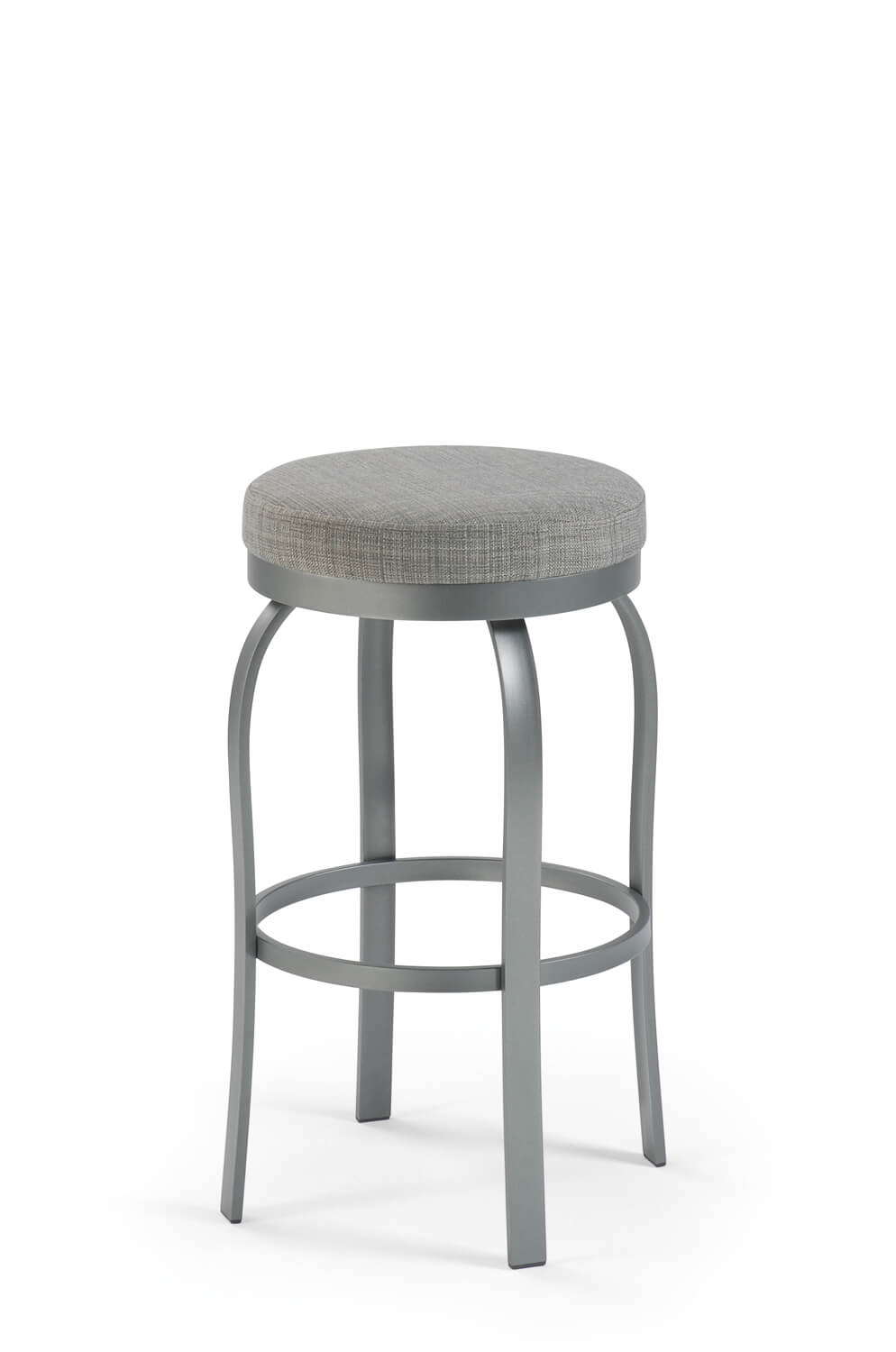 Truffle Backless Swivel Stool