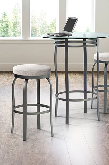 Buy Trica S Truffle Backless Swivel Bar Stool In 26 Quot 30