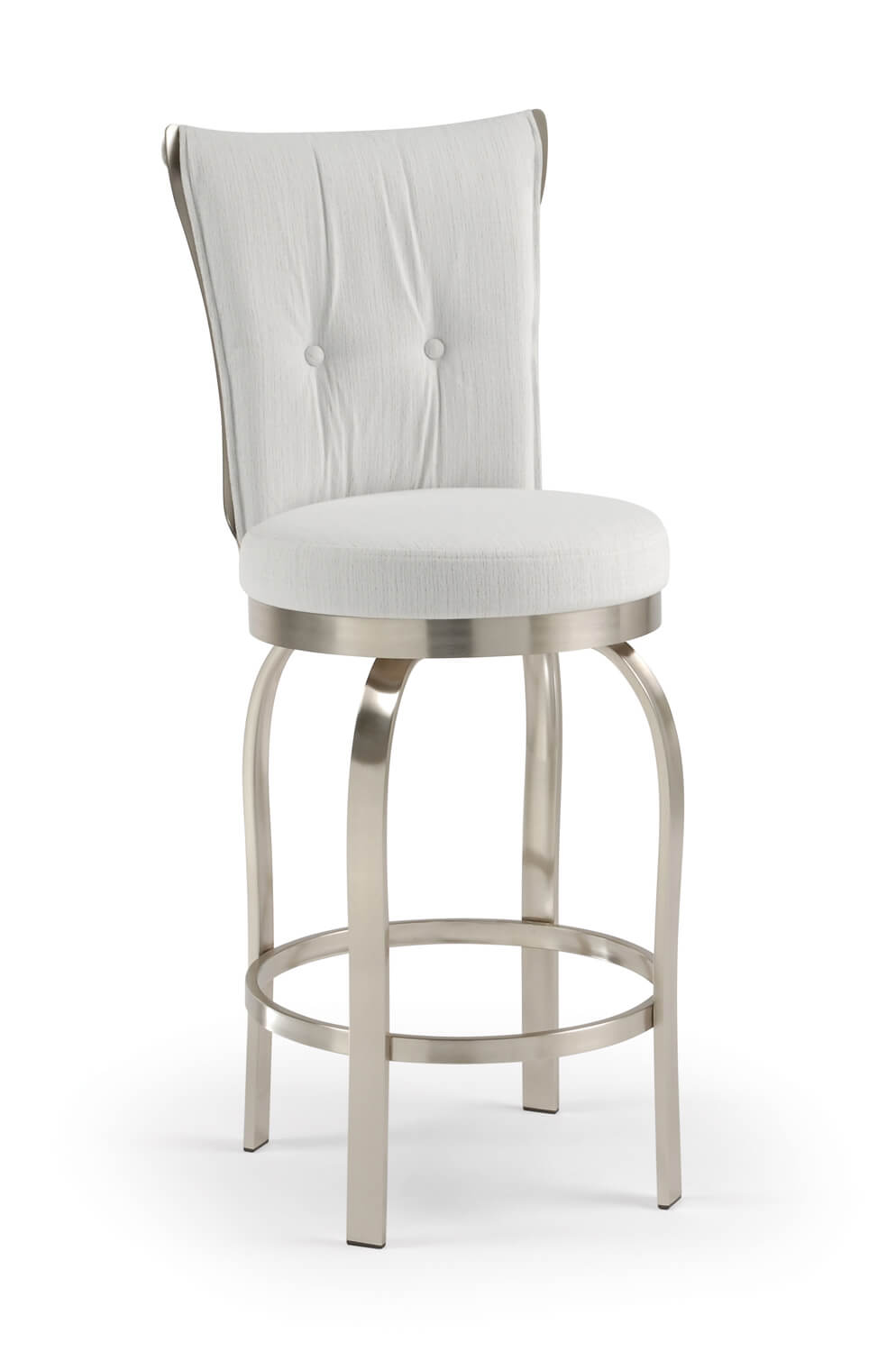 Buy Trica S Tuscany Modern Brushed Steel Swivel Bar Stool