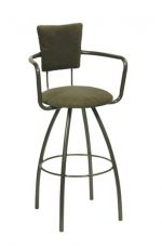 Trica Zip Swivel Stool with Arms