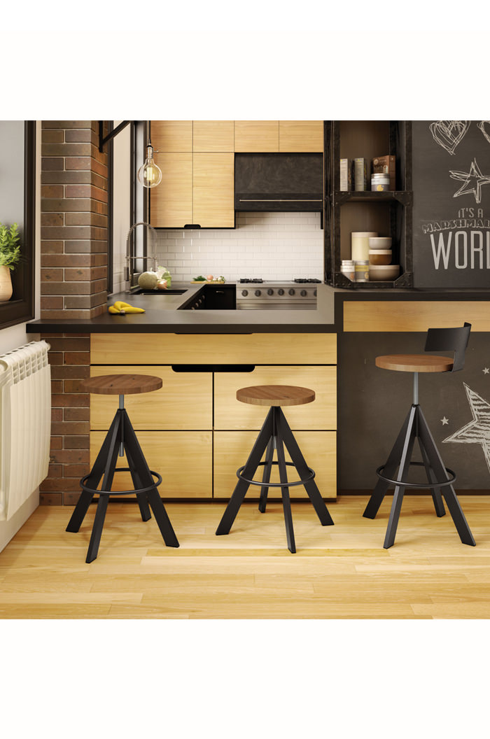 Amisco Uplift Screw Stool For Industrial Kitchens Free