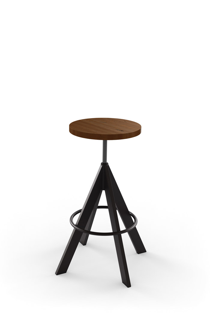 Phenomenal Uplift Backless Adjustable Screw Stool Machost Co Dining Chair Design Ideas Machostcouk