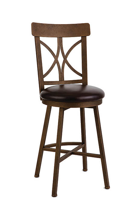 Camarillo Swivel Bar Or Counter Stool American Made