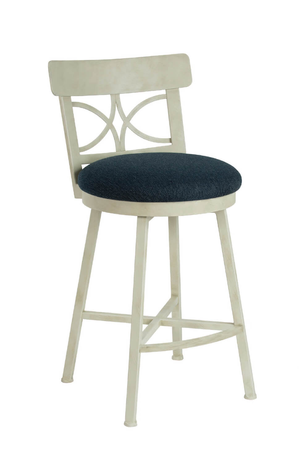 Superb Sausalito Swivel Stool With Back Creativecarmelina Interior Chair Design Creativecarmelinacom