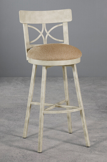 Sausalito Cottage Swivel Counter Bar Stool W Distressed