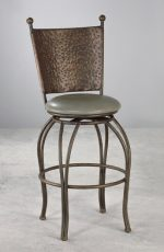 Wesley Allen's Woodland Swivel Stool for European Elegance