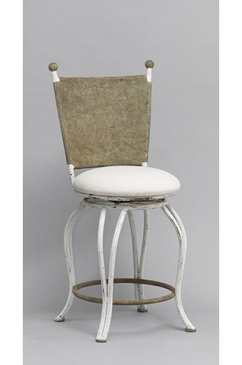 Woodland European Luxury Swivel Counter Bar Stool Customize