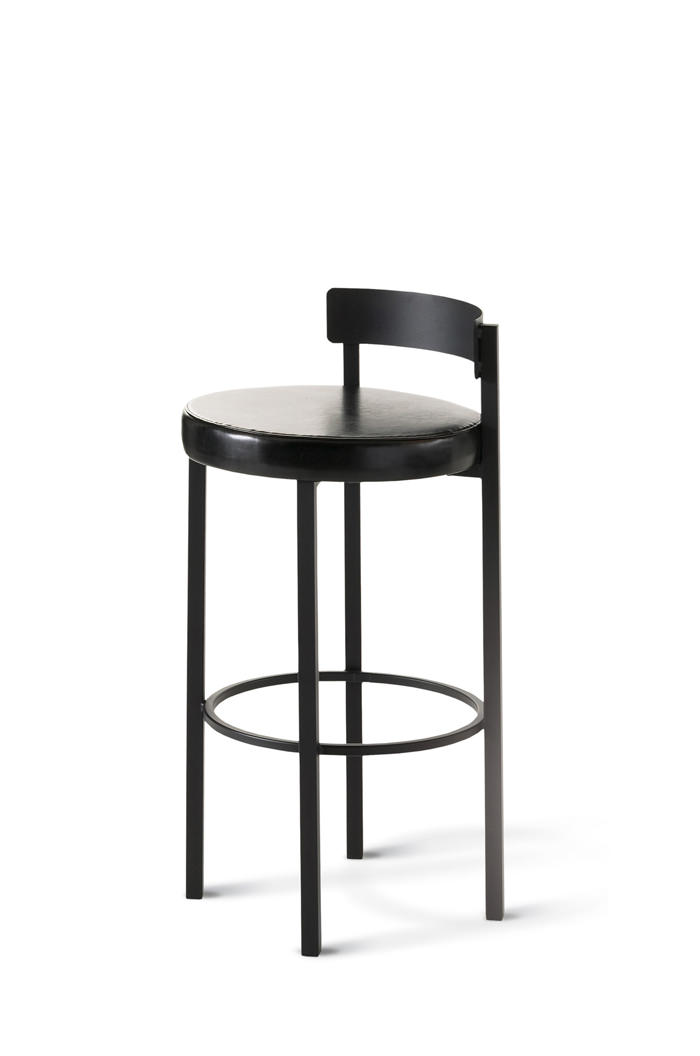 Amisco Zoe Stationary Stool for Modern Kitchens