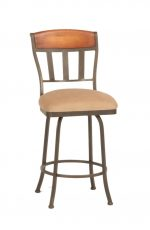 Callee Hamlet Tuscan-Style Swivel Stool