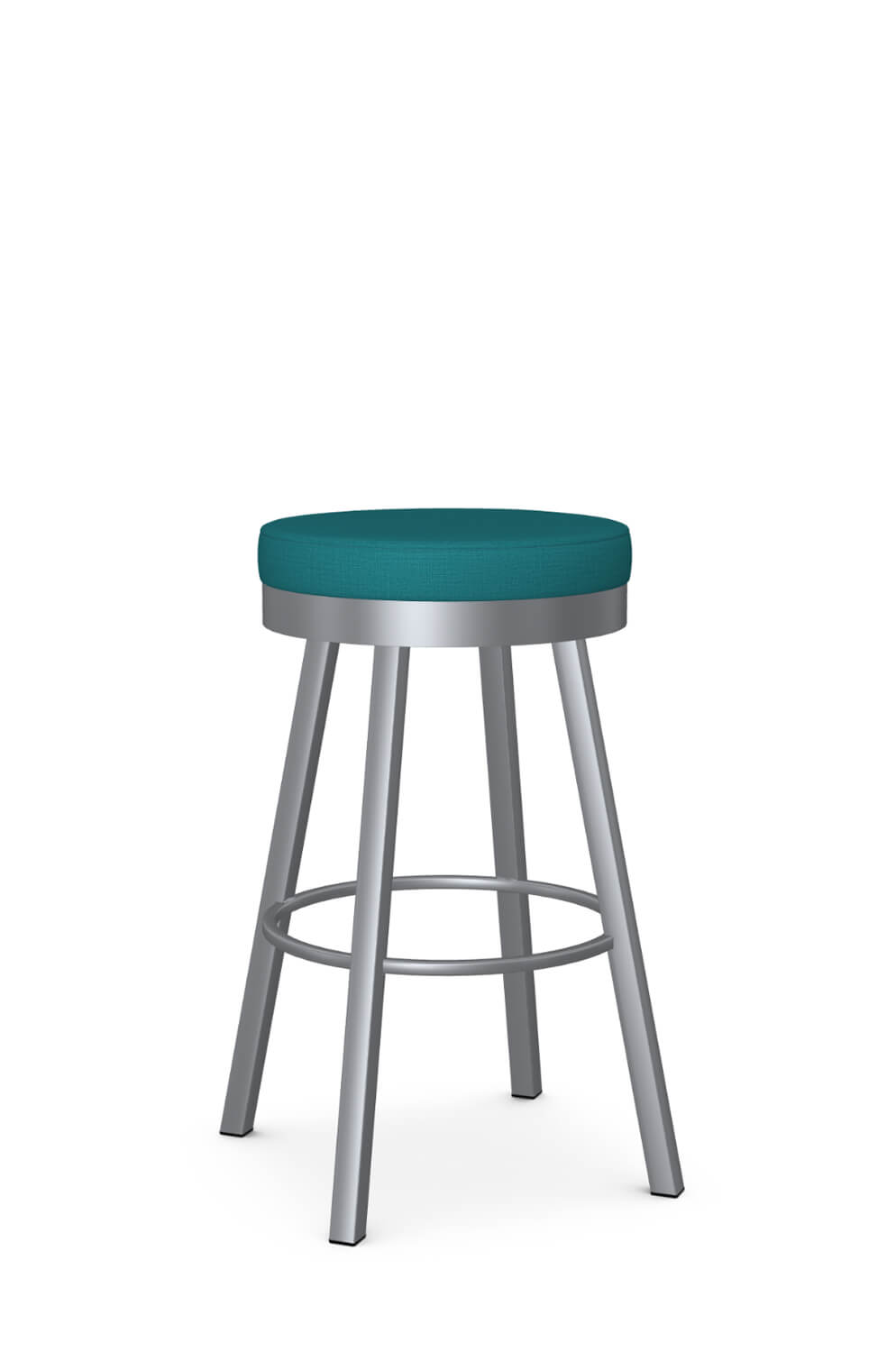 Picture of: Amisco Rudy Backless Swivel Stool For Modern Kitchens Free Shipping