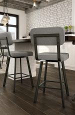 Amisco Brixton Swivel Stool in Kitchen