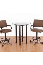Callee Burnet Pub Table with Bar Stools