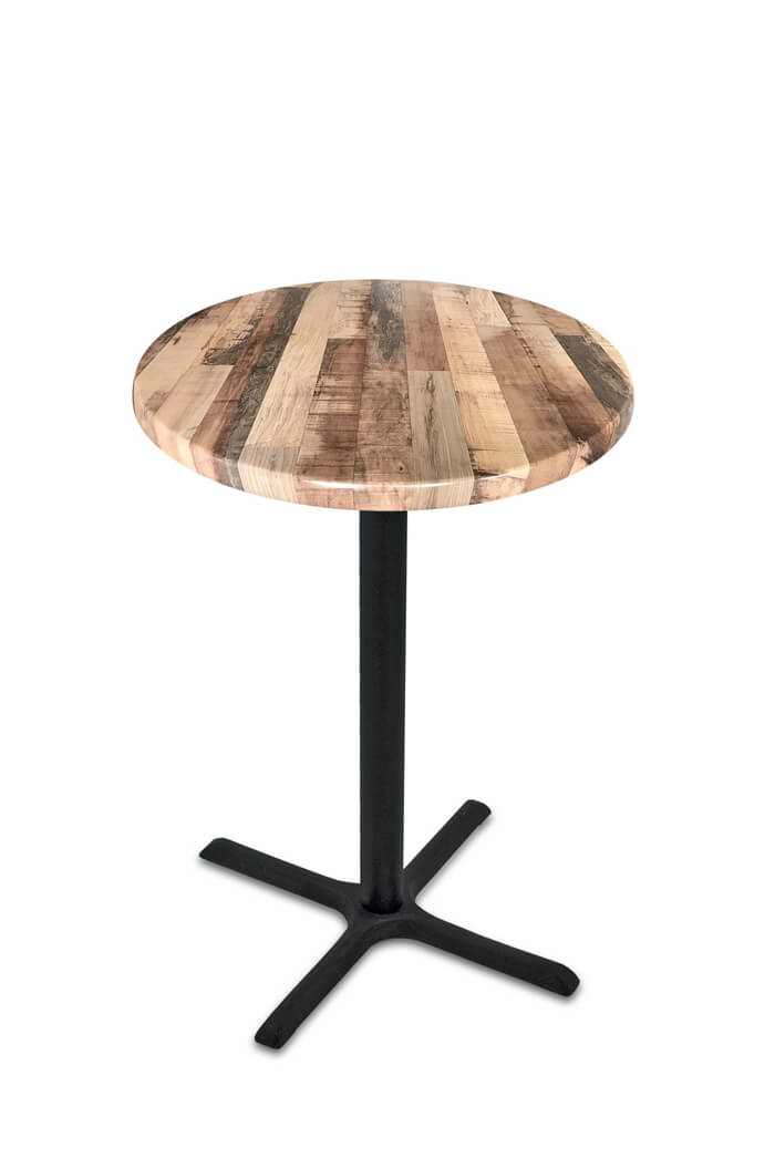 Wyatt All Season Outdoor Table With Round Top Free Shipping