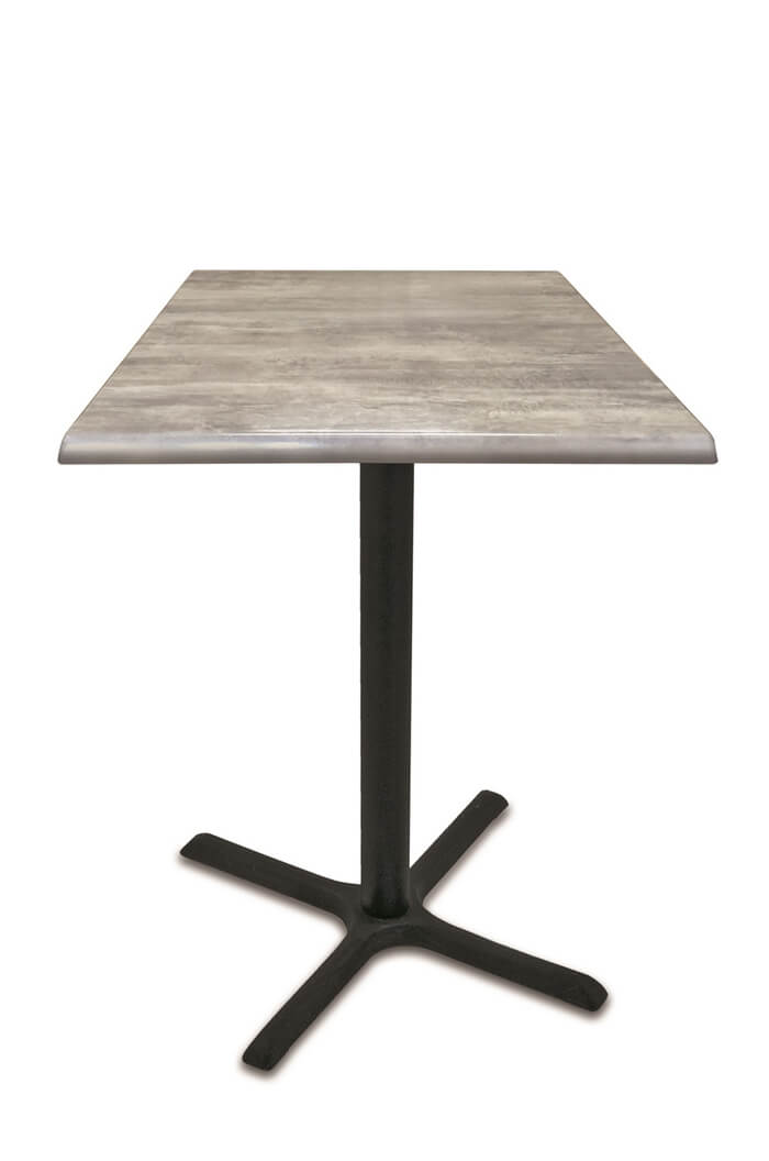 Wyatt All Season Outdoor Table With Square Top Free