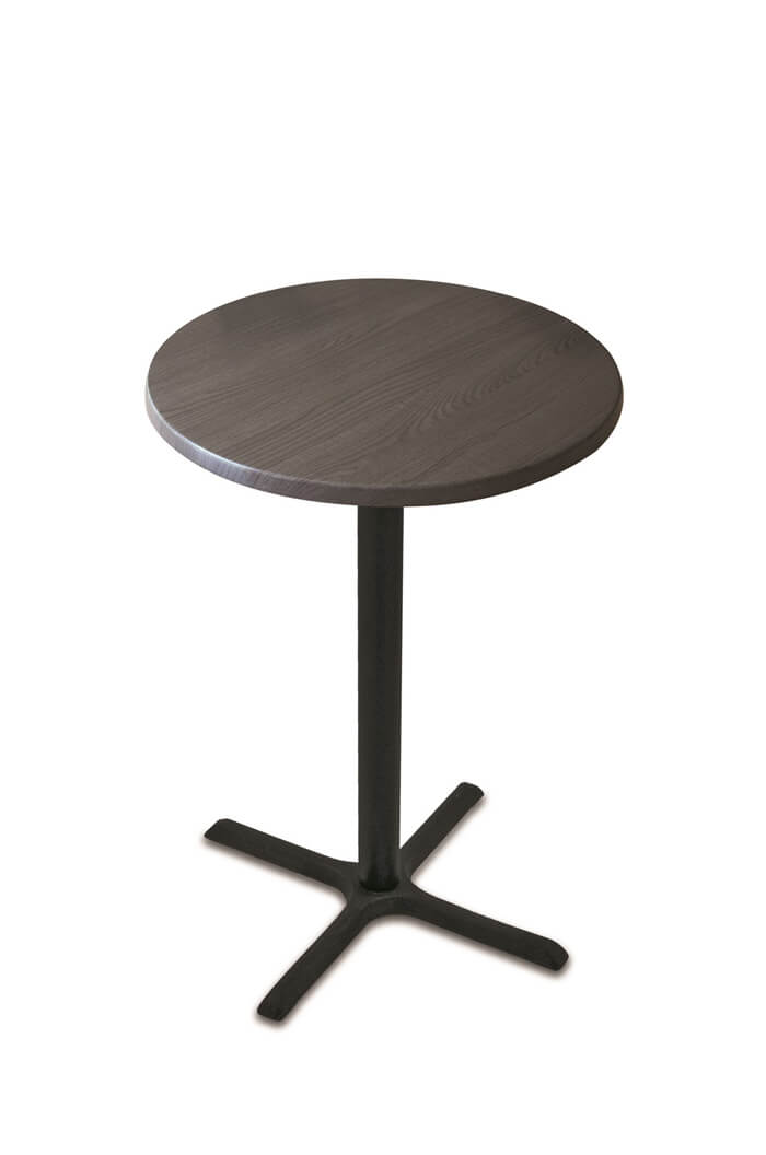 ... Wyatt All Season Outdoor Table With Charcoal Wood Top ...