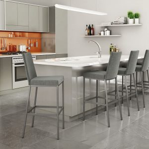 Sturdy and stationary bar stools