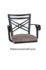 Callee Rebecca Swivel Stool with Arms
