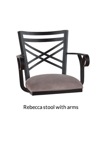 ... Callee Rebecca Swivel Stool With Arms