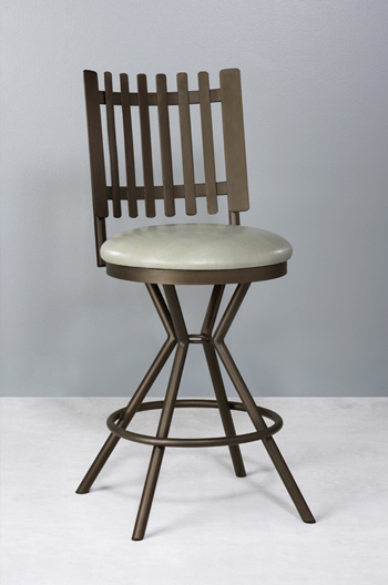 Avondale Swivel Stool by Wesley Allen