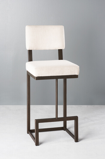 Dumas Non-Swivel Stool by Wesley Allen