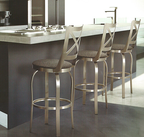 Benefits Of Brushed Steel Bar And Counter Stools