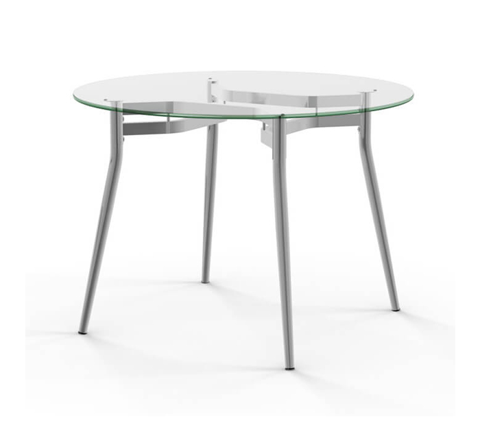 Alys Dining Table with Glass Top