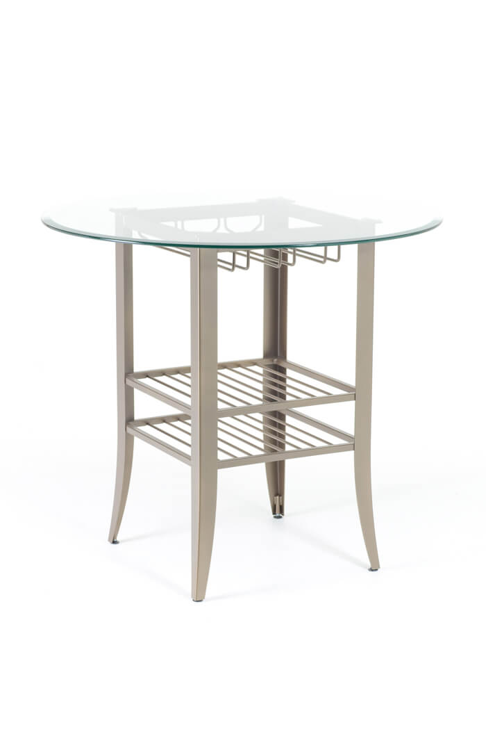 Andy Pub Table (glass Top) ...